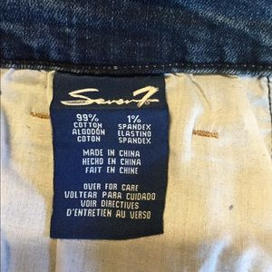 Seven 7 for All Mankind Distressed Plus Jeans